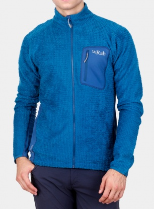 Bluza Rab Alpha Flash Jacket - merlin/ink