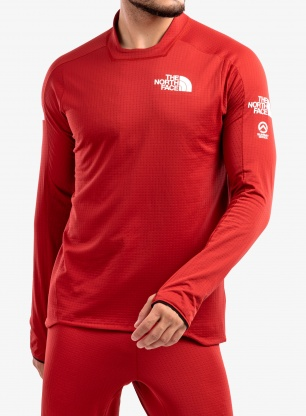 Bluza termoaktywna The North Face Summit AMK L1 - c.red