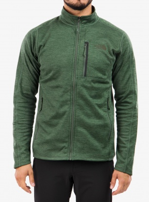 Bluza The North Face Canyonlands Full Zip - thyme