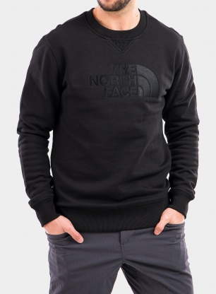 Bluza The North Face Drew Peak Crew - tnf black