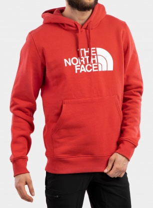 Bluza The North Face Drew Peak Pullover Hoodie - red