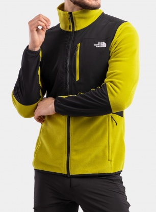 Bluza The North Face Glacier Pro Full Zip - matcha gr/black