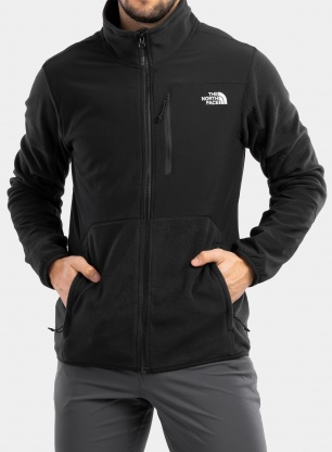 Bluza The North Face Glacier Pro Full Zip - tnf black