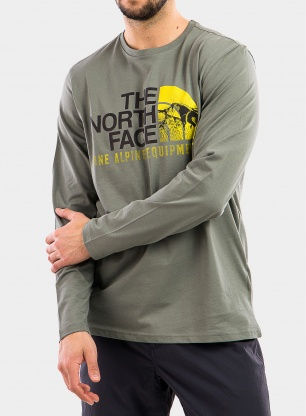 Bluza The North Face Image Ideals Tee L/S - agave green