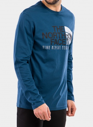 Bluza The North Face Image Ideals Tee L/S - monterey blue
