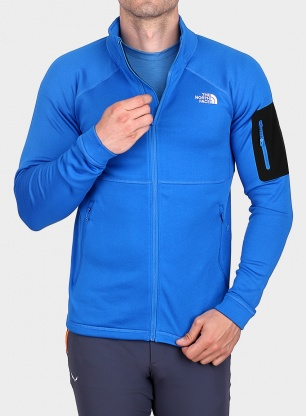 Bluza The North Face Impendor Powerdry Jacket - bomber blue dark hthr