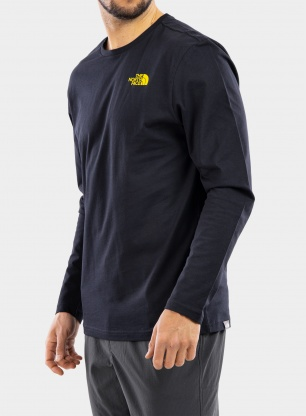 Bluza The North Face L/S Easy Tee - navy/green