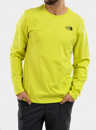 Bluza The North Face L/S Easy Tee - sulphur spring green