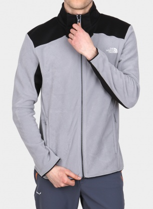Bluza The North Face Purna II Jacket - mid grey/tnf black
