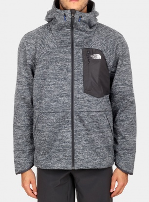 Kurtka softshell The North Face Thermal Windwall Hoodie - bl