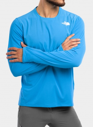 Bluza The North Face True Run L/S Shirt - meridian blue