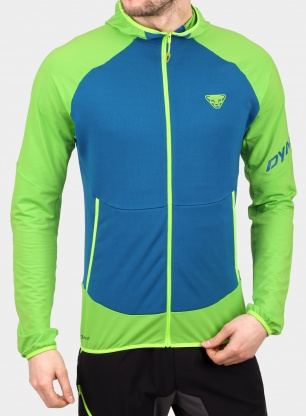 Bluza trailowa Dynafit Transalper Light PTC Hoody - lambo green