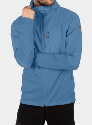 Bluza trekkingowa Fjallraven Abisko Trail Fleece - blue