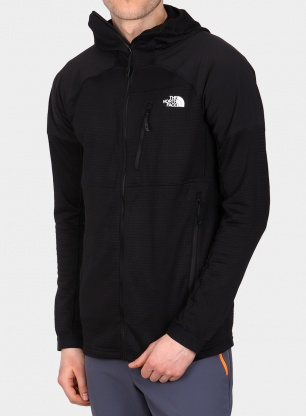 Bluza z kapturem The North Face Impendor Grid Hoodie - tnf black/black