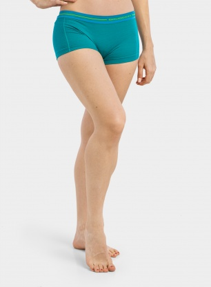 Bokserki damskie Brubeck Active Wool Boxer Shorts - emerald