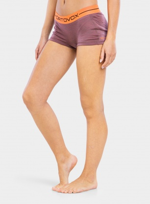 Bokserki damskie Ortovox 185 Rock'N'Wool Hot Pants - blush blend