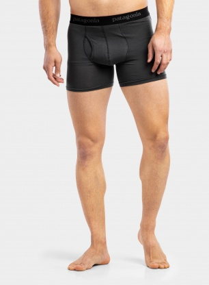 Bokserki Patagonia Essential Boxer Briefs - 3 in. - forge grey