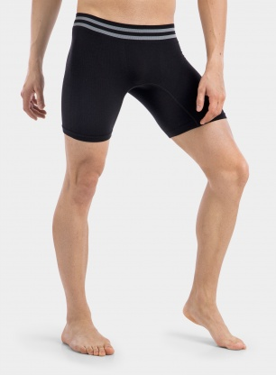 Bokserki SmartWool PHD Seamless Boxer Brief - black