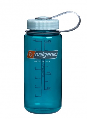 Butelka na wodę Nalgene Everyday Wide 0.5L - trout green
