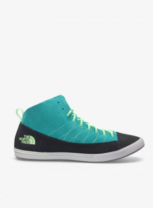 Buty damskie The North Face Base Camp Approach Mid - blue/green