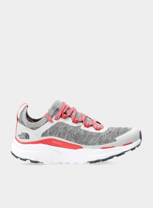 Buty damskie The North Face Vectiv Escape - grey/fiesta red