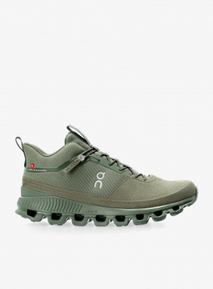 Buty outdoorowe On Running Cloud Hi Monochrome - forest