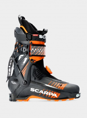 Buty skiturowe Scarpa F1 LT - carbon/orange
