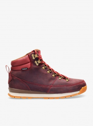 Buty The North Face Back to Berkeley Redux Leather - red/brown