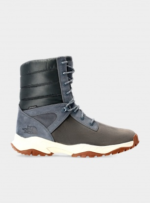 Buty The North Face Thermoball Boot Zip-Up - asphalt/white