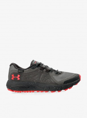 Buty trailowe damskie Under Armour Charged Bandit TrailGTX - gray/blue