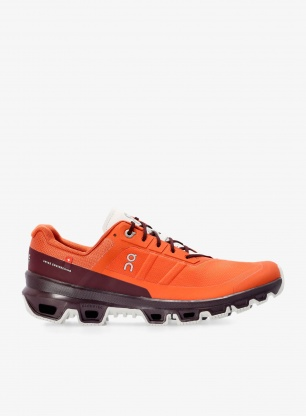 Buty trailowe On Running Cloudventure - flare/mulberry