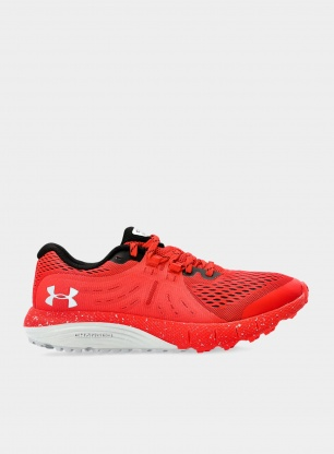 Buty Under Armour Charged Bandit Trail - red/mod gray