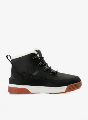 Buty zimowe damskie The North Face Sierra Mid Lace WP - black/white