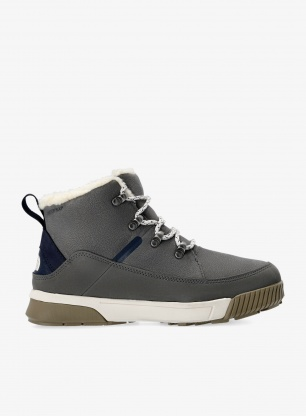 Buty zimowe damskie The North Face Sierra Mid Lace WP - grey