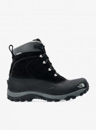 Buty zimowe The North Face Chilkat II - blk/griffin grey