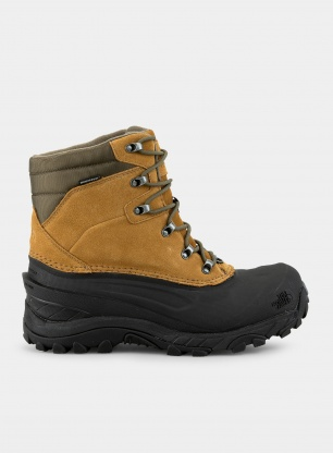 Buty zimowe The North Face Chilkat IV - brown/green