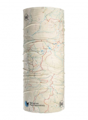 Chusta Buff Original TPN - Tatry mapa