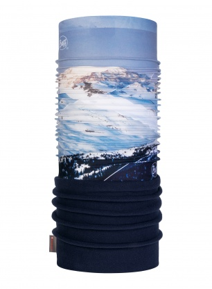 Chusta Buff Polar Mountain Collection - m-blank blue