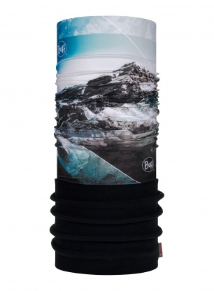 Chusta Buff Polar Mountain Collection - mount everest blue
