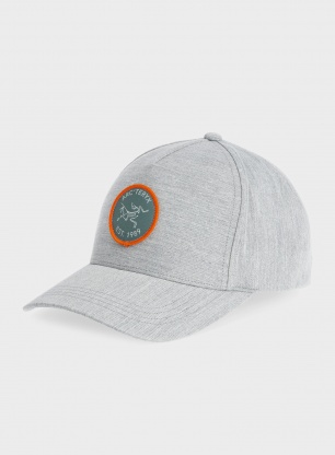 Czapka Arcteryx Bird Patch Cap - grey heather