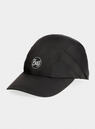 Czapka biegowa Buff Pro Run Cap - solid black