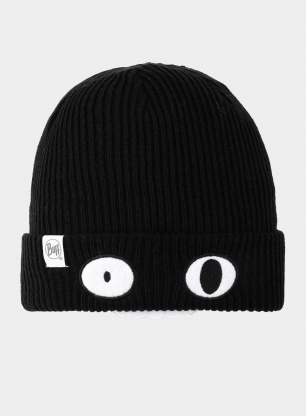 Czapka Buff Child Knitted Hat Funn - bat black
