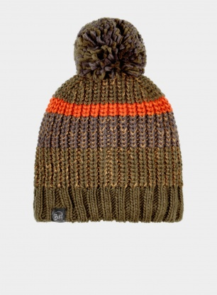 Czapka Buff Knitted & Fleece Hat Stig - bark