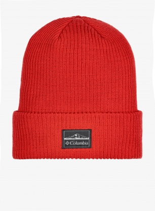 Czapka Columbia Lost Lager II Beanie - mountain red