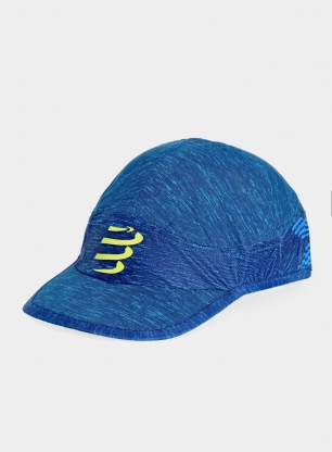 Czapka Compressport Pro Racing Cap - blue melange