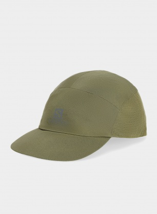Czapka do biegania Salomon XA Compact Cap - olive night