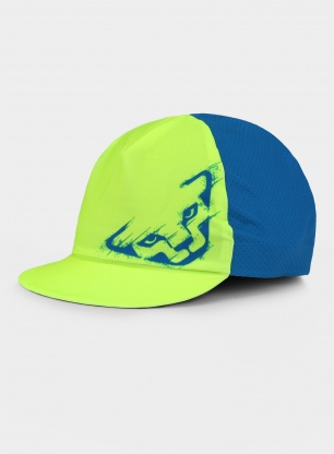 Czapka Dynafit Performance Visor Cap - fluo yellow