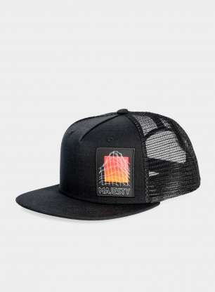 Czapka Majesty Vagabond Trucker - black