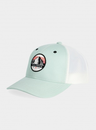 Czapka Salomon Trucker Curved Cap - harbor gray/white
