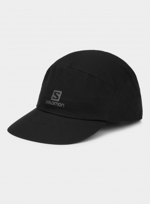 Czapka do biegania Salomon XA Compact Cap - black
